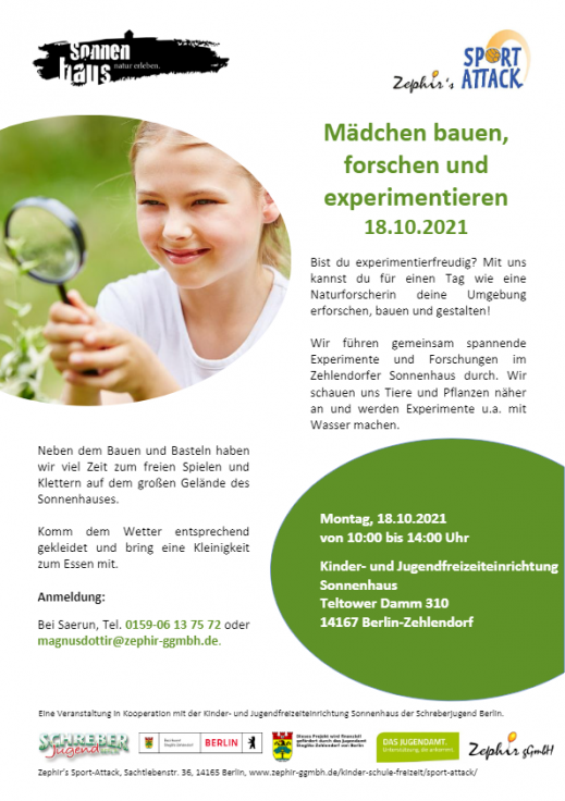 Download Flyer Mädchentag