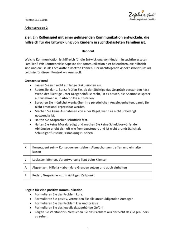 thumbnail of Zephir-Fachtag 2018 Handout Kommunikation AG 2