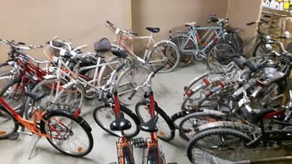 Fahrradwerkstatt, Pankow, Gemeinschaftsunterkunft, Spende, Sport-Attack, Zephir